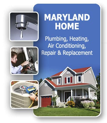 Maryland Home Plumbing Heating Air Conditioning Repair Replacement