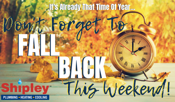 image of fall back this weekend tips