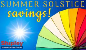 image of summer solstice savings