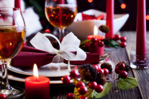 image of holiday dishes