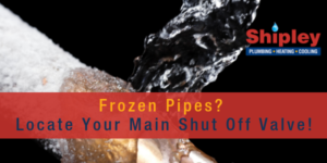 image of frozen pipes