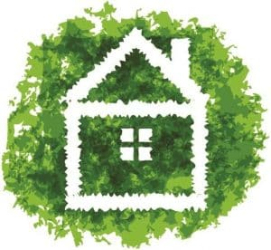 image of going green at home